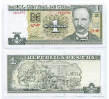 Куба 1 песо 2009