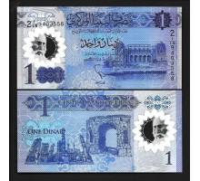 Ливия 1 динар 2019 полимер