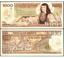 Мексика 1000 песо 1985