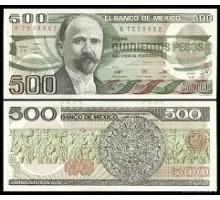 Мексика 500 песо 1984