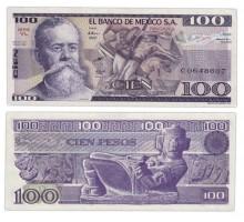 Мексика 100 песо 1982