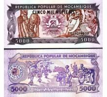 Мозамбик 5000 метикайс 1989