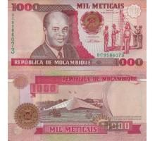 Мозамбик 1000 метикалов 1991
