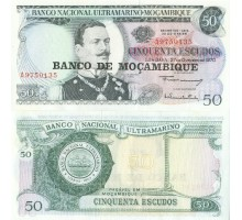 Мозамбик 50 эскудо 1976 на 50 эскудо 1970