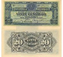 Мозамбик 20 сентаво 1933