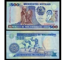 Мозамбик 500 метикалов 1991