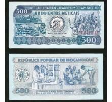 Мозамбик 500 метикалов 1980