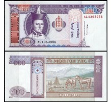 Монголия 100 тугриков 2008