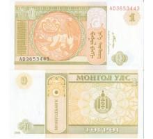 Монголия 1 тугрик 2008