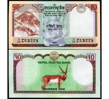 Непал 10 рупий 2017