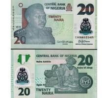 Нигерия 20 найра 2018
