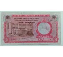 Нигерия 1 фунт 1967