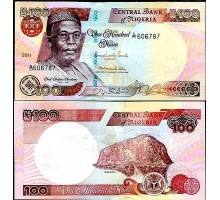 Нигерия 100 найра 2011