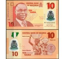 Нигерия 10 найра 2010