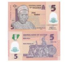 Нигерия 5 найра 2011 (полимер)