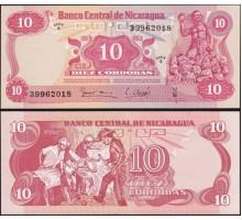 Никарагуа 10 кордоба 1979