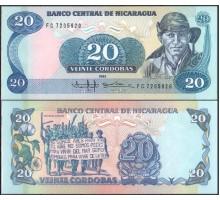 Никарагуа 20 кордоба 1985