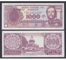 Парагвай 1000 гуарани 2002