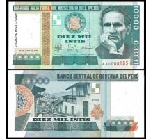 Перу 10000 инти 1988