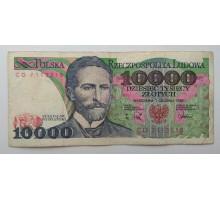 Польша 10000 злотых 1988