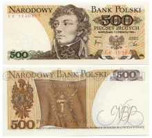Польша 500 злотых 1982