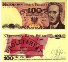 Польша 100 злотых 1986-1988