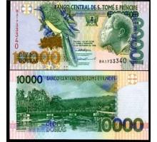 Сан-Томе и Принсипи 10000 добр 1996