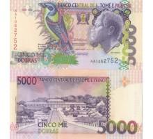 Сан-Томе и Принсипи 5000 добр 1996