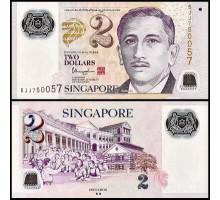 Сингапур 2 доллара 2015