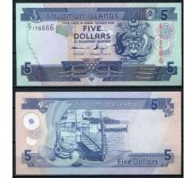 Соломоновы острова 5 долларов 2006-2012