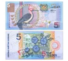 Суринам 5 гульденов 2000