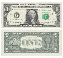США 1 доллар 2013
