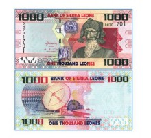Сьерра-Леоне 1000 леоне 2010