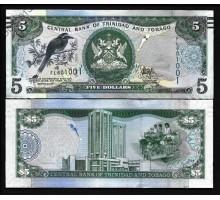 Тринидад и Тобаго 5 долларов 2006 (2017)