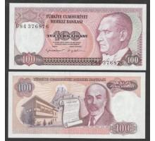 Турция 100 лир 1984