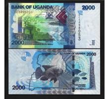 Уганда 2000 шиллингов 2019