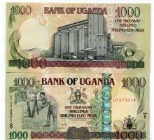 Уганда 1000 шиллингов 2009