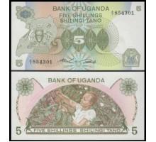 Уганда 5 шиллингов 1982