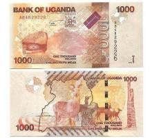 Уганда 1000 шиллингов 2010