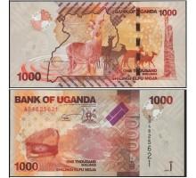 Уганда 1000 шиллингов 2017