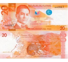 Филиппины 20 песо 2014