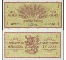 Финляндия 1 марка 1963