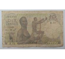 Французская Западная Африка 10 франков 1949