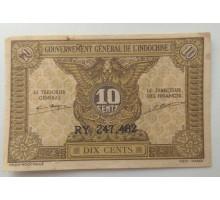 Индокитай 10 сантимов 1943