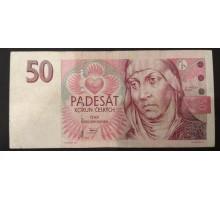 Чехия 50 крон 1997