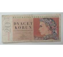Чехословакия 20 крон 1949