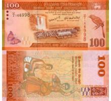 Шри-Ланка 100 рупий 2010-2013