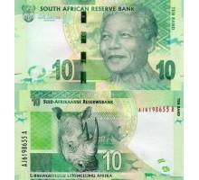 ЮАР 10 рандов 2015-2016