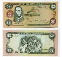 Ямайка 2 доллара 1993