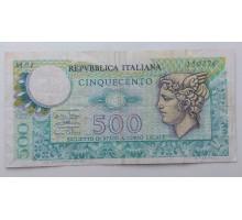 Италия 500 лир 1974